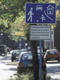 Verkehrsberuhigter Bereich Fahrtippsde